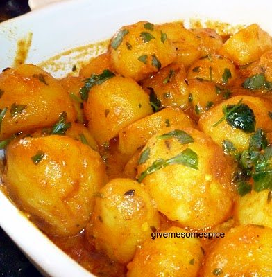 New Potato Curry | Authentic Vegetarian Recipes ...