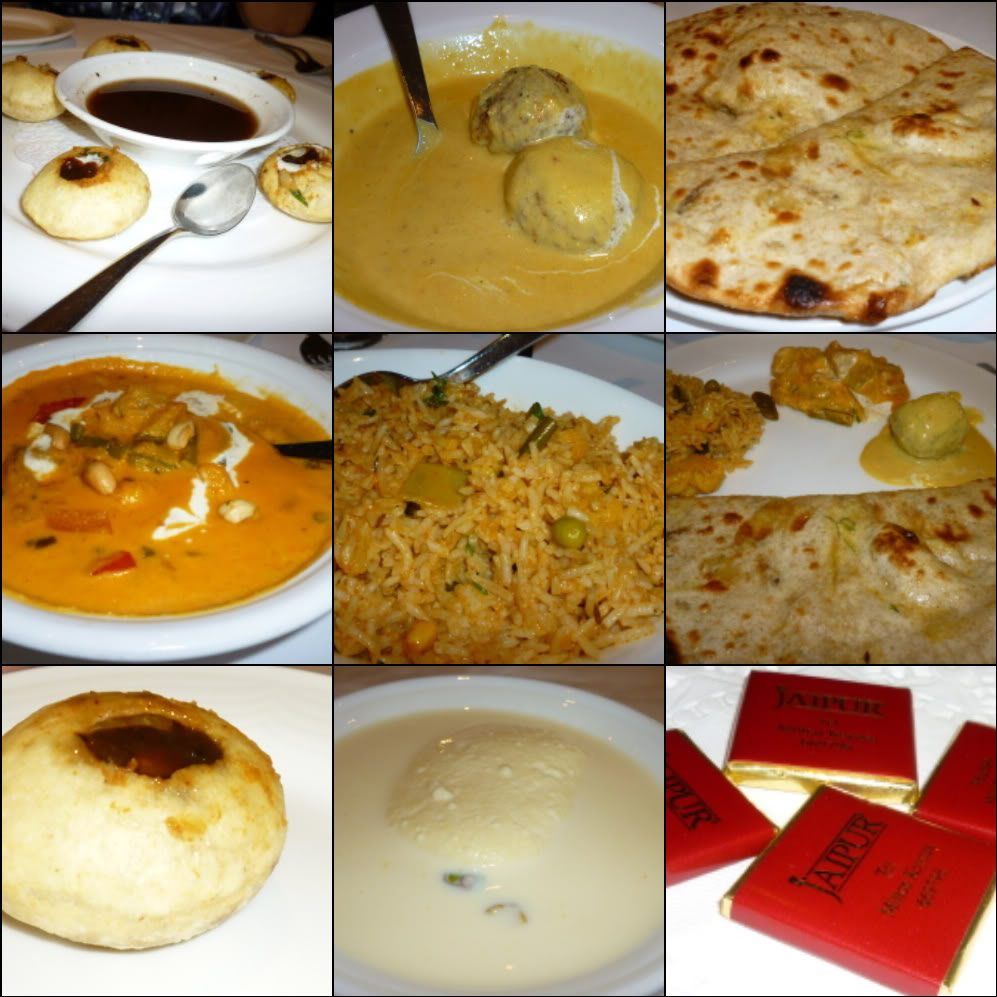 Some of the dishes we tried