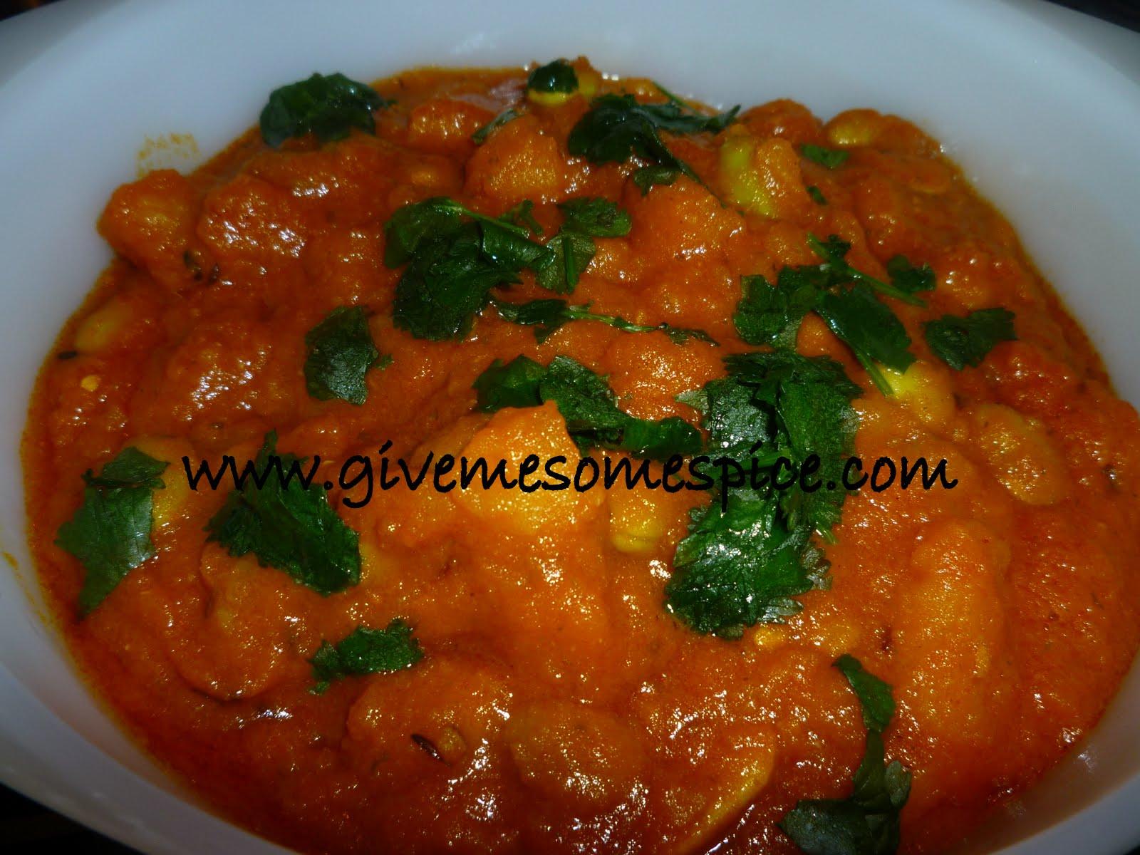 Soya Beans and Potatoes Curry (Soya bateta nu shak ...